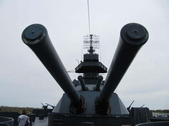 Battleship Texas 14 inch guns