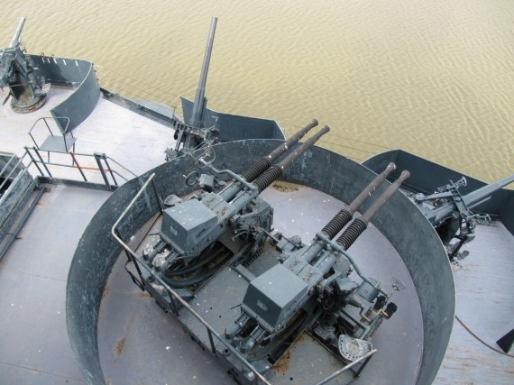 Battleship Texas anti-aircraft guns
