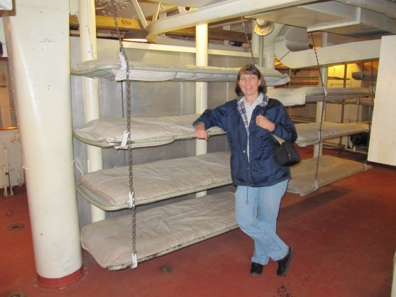 Battleship Texas sleeping quarters