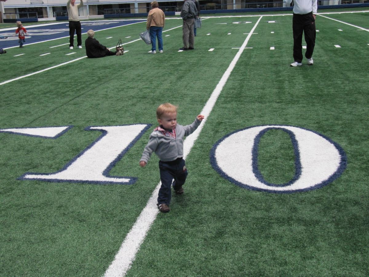 Cowboys Stadium at the 10