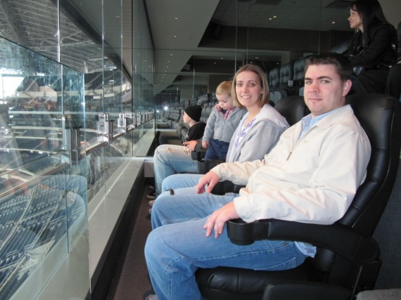 Cowboys Stadium private suite