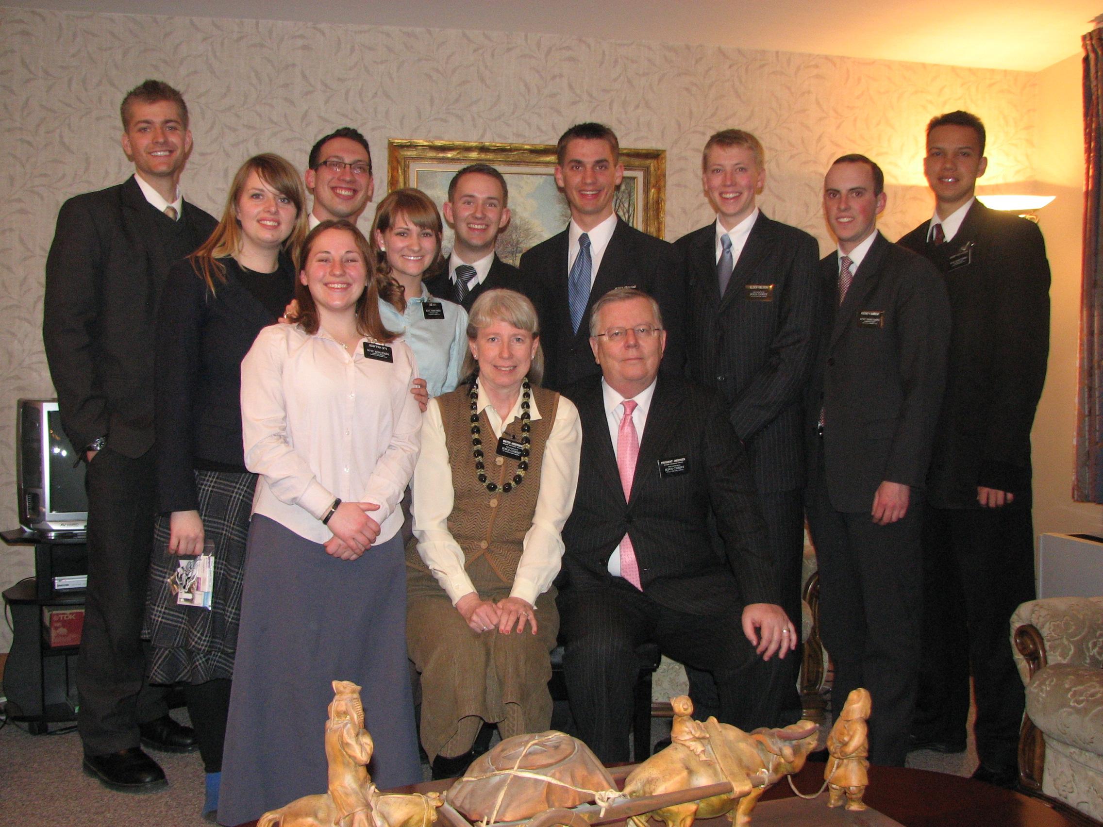 Missionaries bid farewell to Mongolia