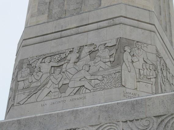 San Jacinto Monument engravings