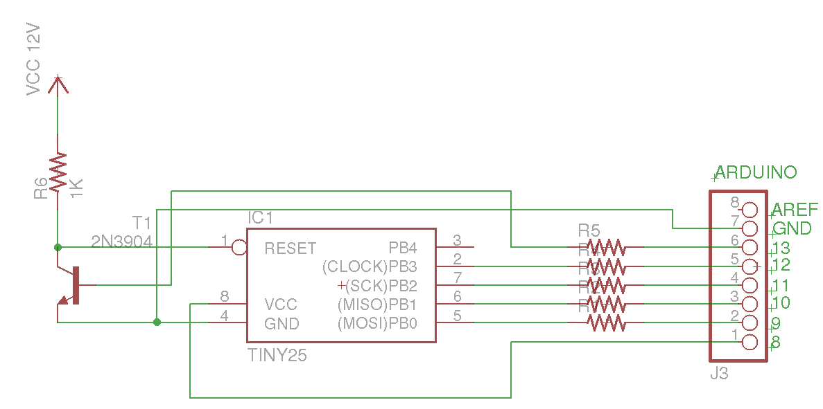 diagram arduino avr high voltage serial programmer