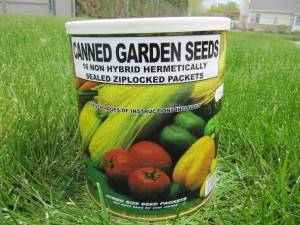 Canned Garden Seeds