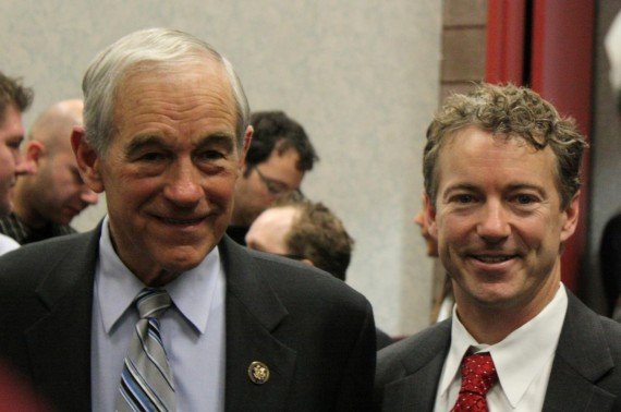 Ron and Rand Paul