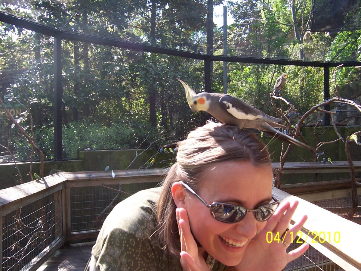 Sarah at Fort Worth Zoo