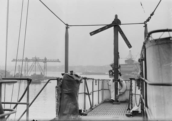 USS Utah semaphore