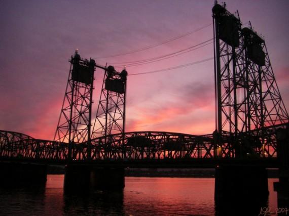 Vancouver Portland bridge