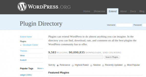 WordPress Plugin Directory