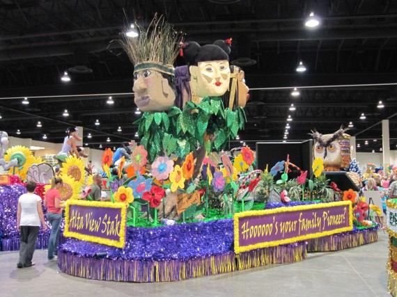 Days of 47 Float Preview