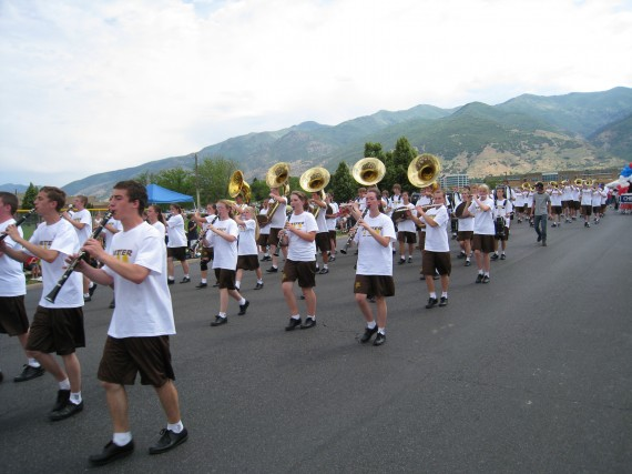 Kaysville 4th DHS Band