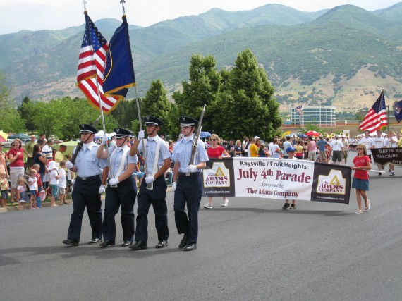 Kaysville 4th Parade Flag