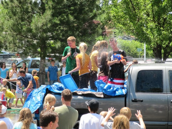 Kaysville Independence Day Water Fight