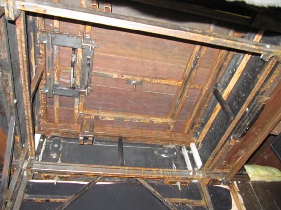 Adams Theatre trapdoor