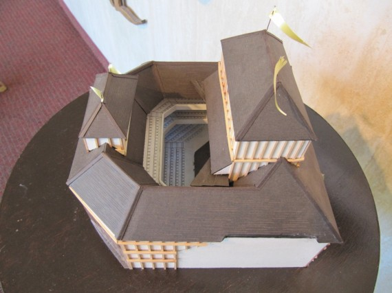 Model of the New Shakespeare Theatre