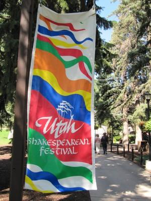 Utah Shakespearean Festival banner