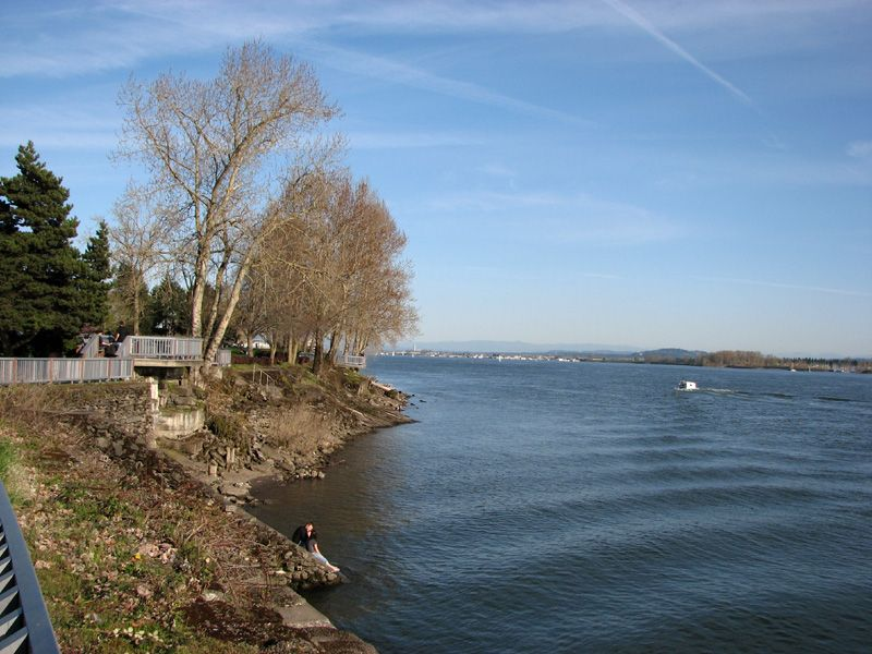 Old Apple Tree Park by the Columbia River, Vancouver, Washington