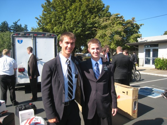 Daniel and Elder Powell