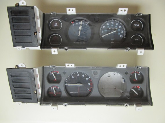 Jeep instrument panels
