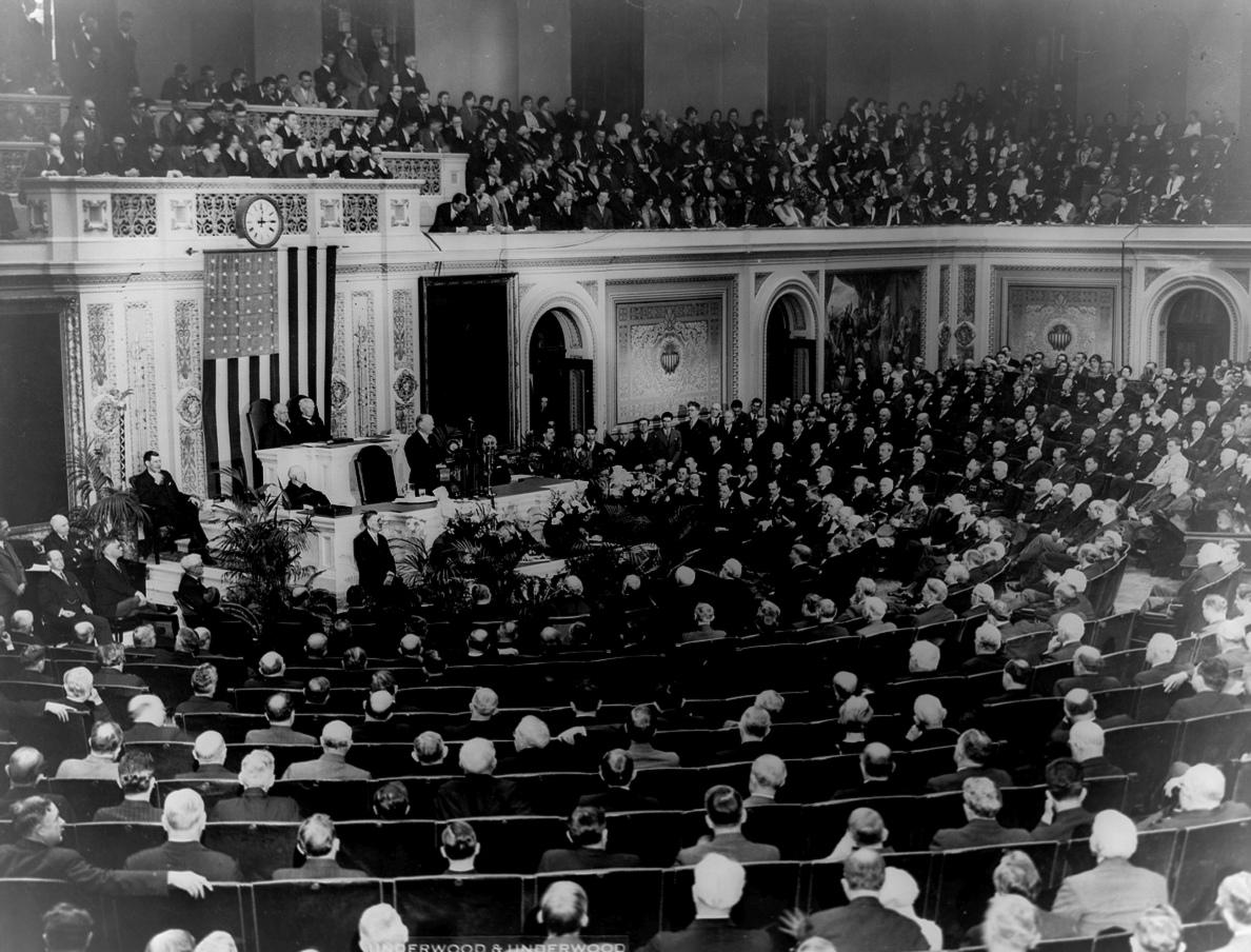 Hoover Addresses Congress