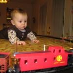 Grandpa Gets a Train Set
