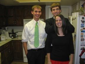 Daniel, Jake, and Rachel