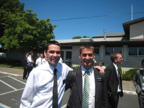 Elder Hardy and Elder Willoughby