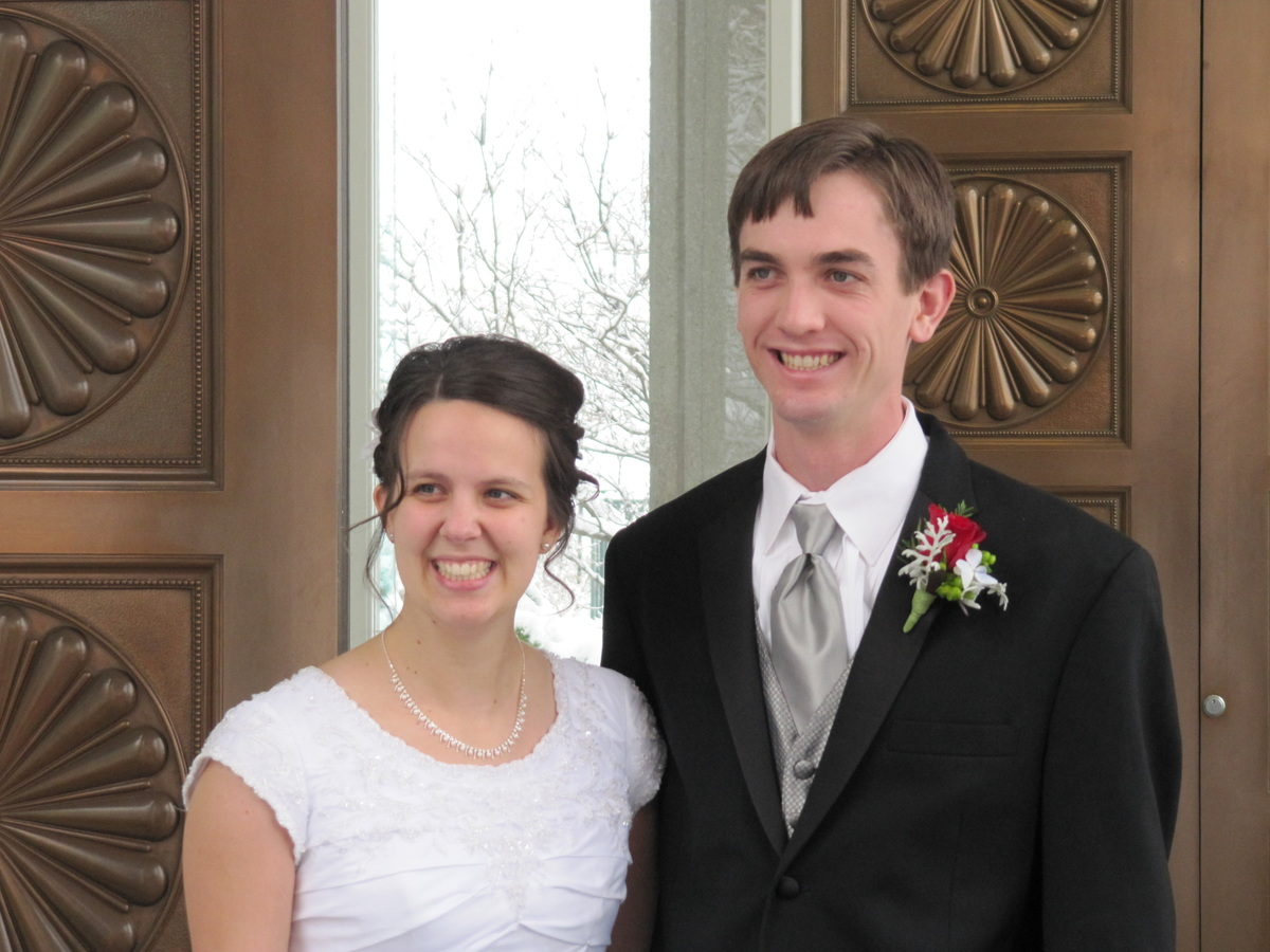 Married in the Bountiful Temple