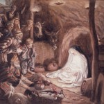 James Tissot Paints The Birth Of Christ