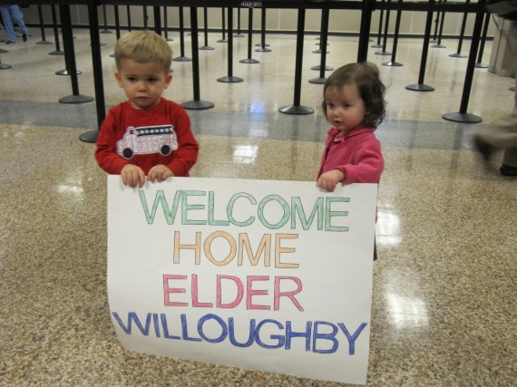 Welcome Home Elder Willoughby