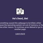 Chrome's Dead, Jim!