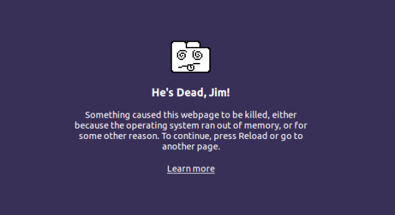 Chrome is dead, Jim!