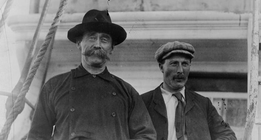 Robert Peary and Bob Bartlett