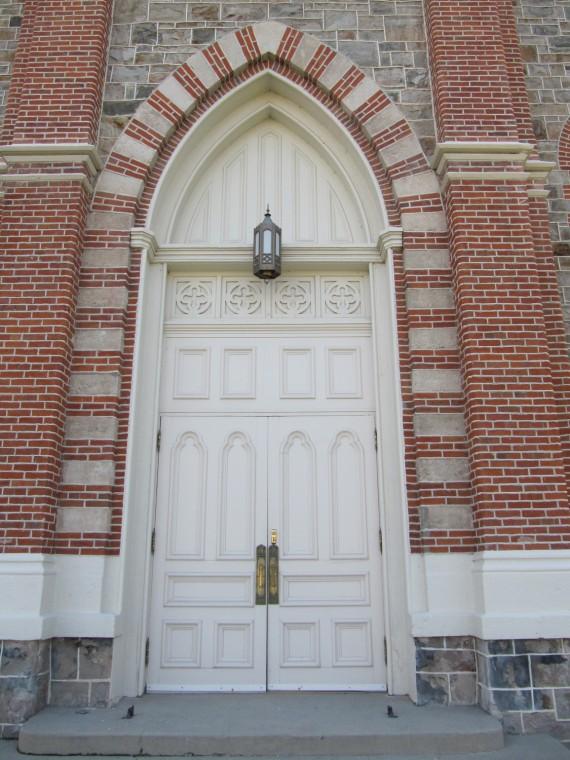 Brigham City Tabernacle doors
