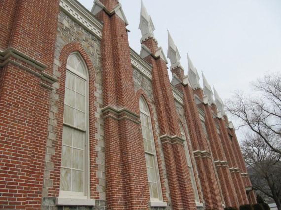 Brigham City Tabernacle spires