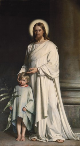 Christ Blessing the Little Child