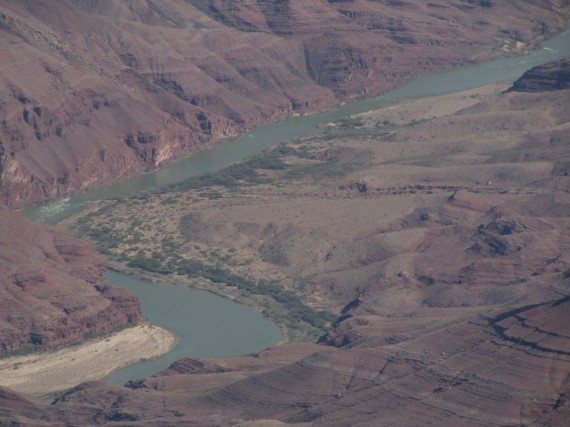 Grand Canyon Colorado River from the South Rim