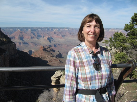 Jill at the Grand Canyon