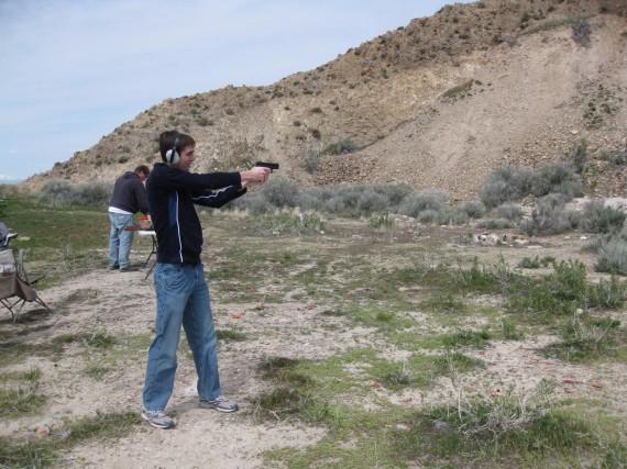 Target practice pistol Jake