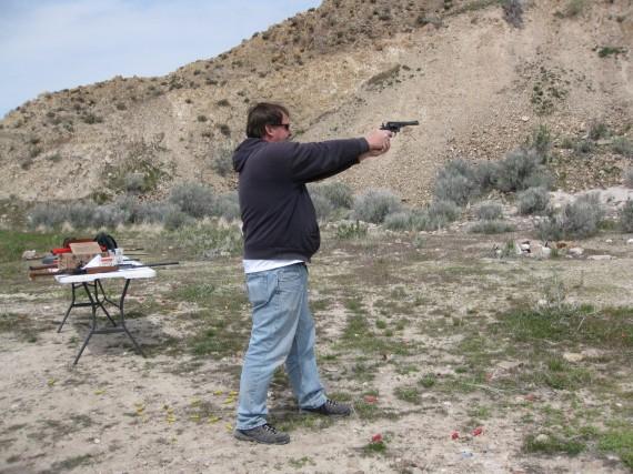 Target practice pistol Randy