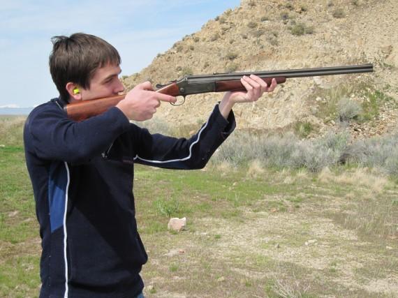 Target practice rifle Jake