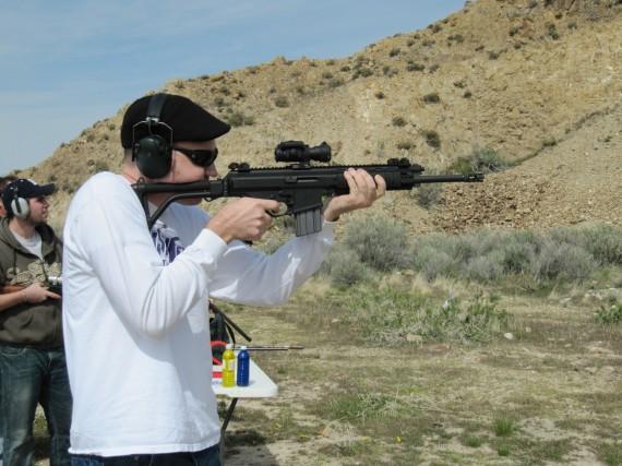 Target practice rifle Mark