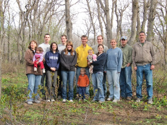 North Fork Park group photo