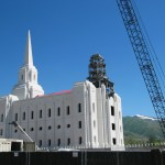 Brigham City Temple Roof