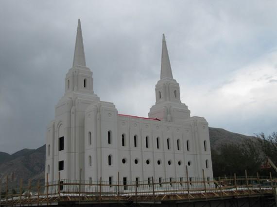 Brigham City Temple Spires