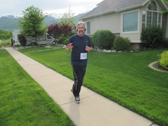 Kaysville Utah South Stake 5K Mike