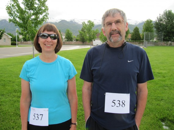 Kaysville Utah South Stake 5K runners
