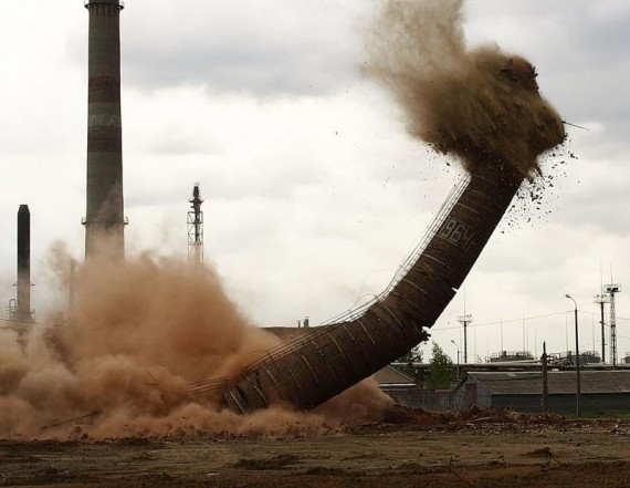 Russian smokestack