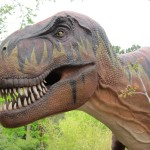 Dinosaurs at Hogle Zoo